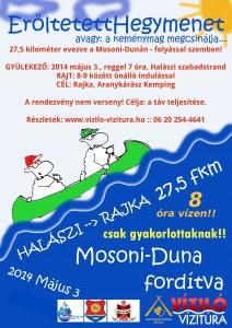 "Mosoni-Duna ""vissza"" túraverseny"