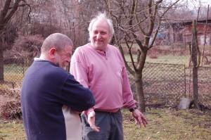 Pepe és a Mester - anegdótázás a kertben