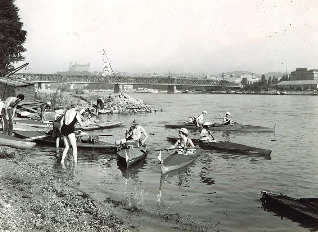 Egy archív fotó Pozsonyból